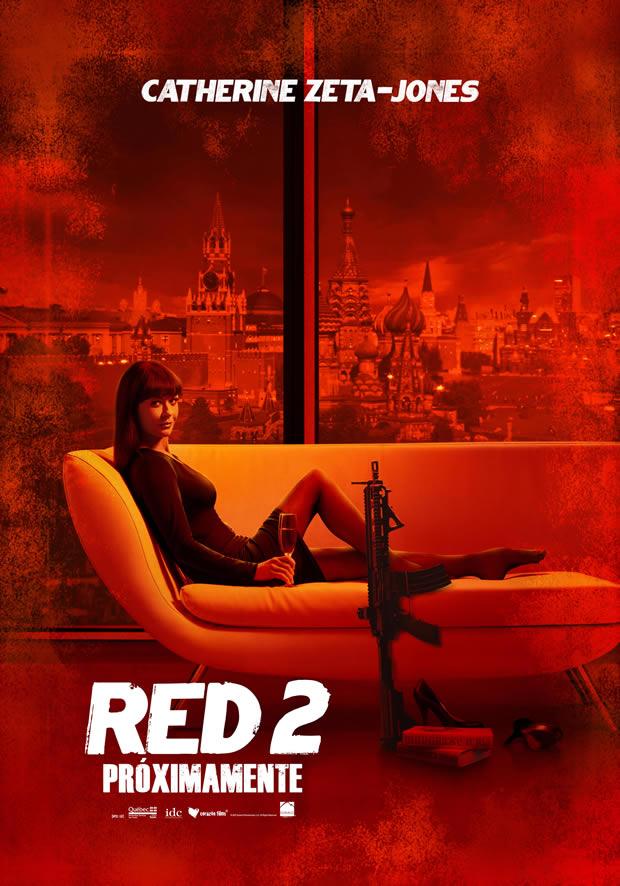 Red2-CATHERINE ZETA-JONES