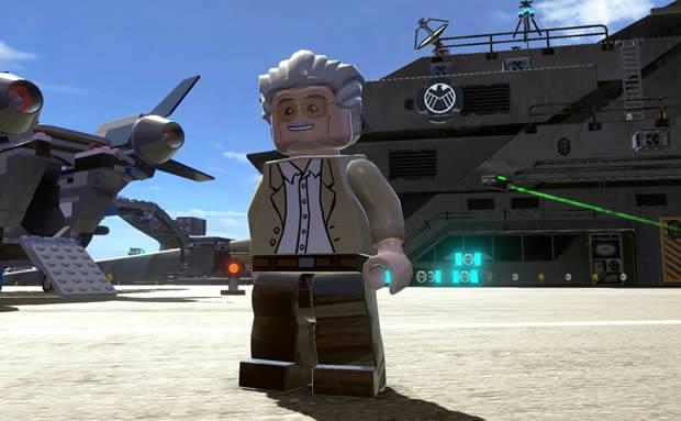 Descubre los poderes de Stan Lee en LEGO Marvel Super Heroes