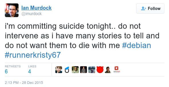 suicidio ian murdock