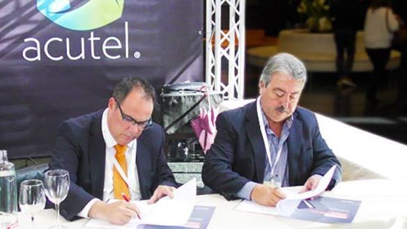 tugesto y Acutel firman un acuerdo frente a los impagos
