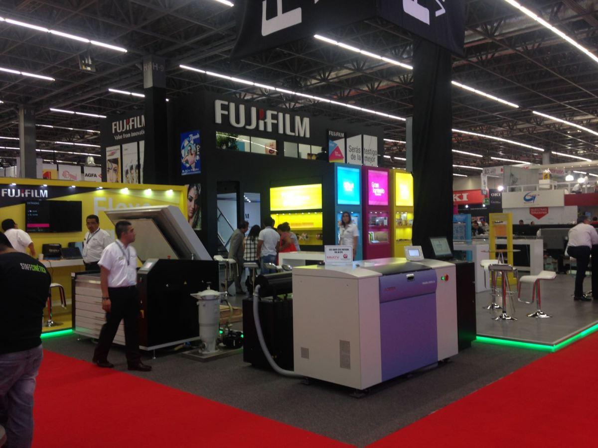 Fujifilm presenta lo más innovador en tecnología de impresión en Expográfica 2017