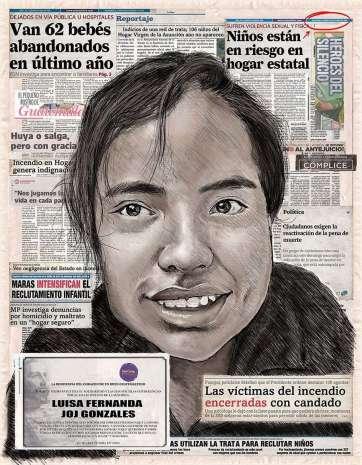 30. Luisa Fernanda Joj González, por Juan Pablo Canale