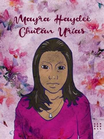 9. Mayra Haydeé Chutan Urías, por Xanderall
