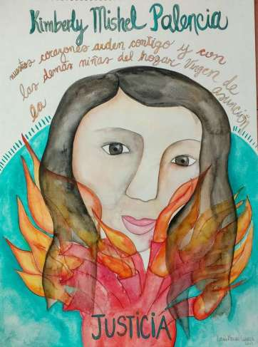 22. Kimberly Mishel Palencia Ortíz, por Lucía Morán Giracca