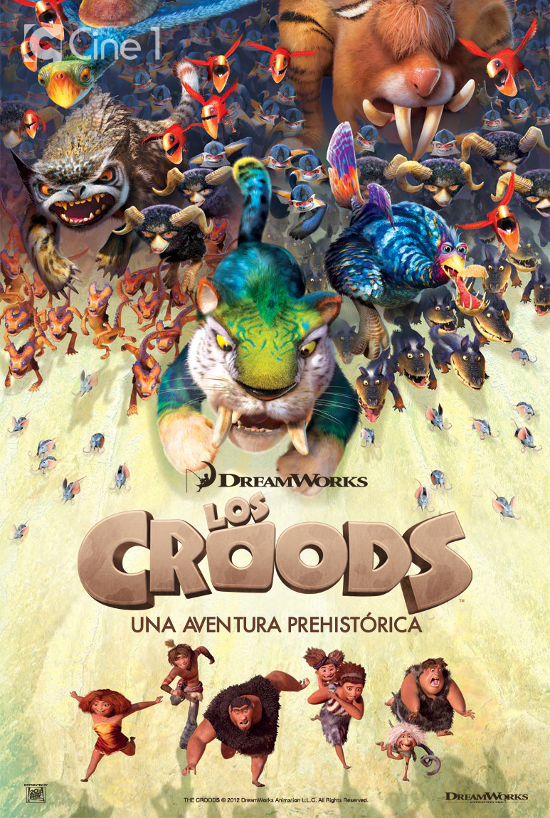 Los Croods notas de producción, trailer y poster