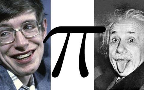 Hawking Pi Einstein