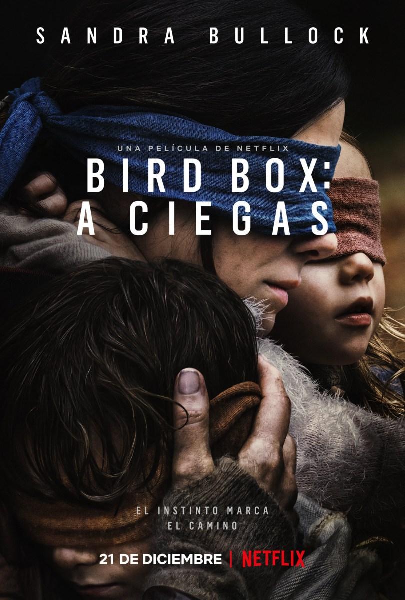 Bird Box: A ciegas de Netflix, trailer, poster y más