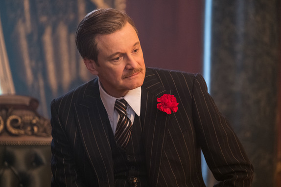 Colin Firth is MR. Wilkins in Disney's MARY POPPINS RETURNS.