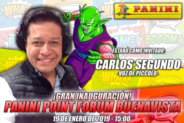 Inauguración Panini Point Forum Buenavista Carlos Segundo