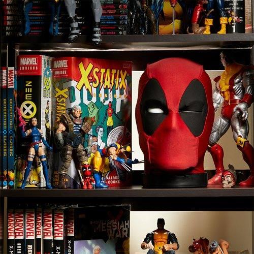 Cabeza de Deadpool en la colección