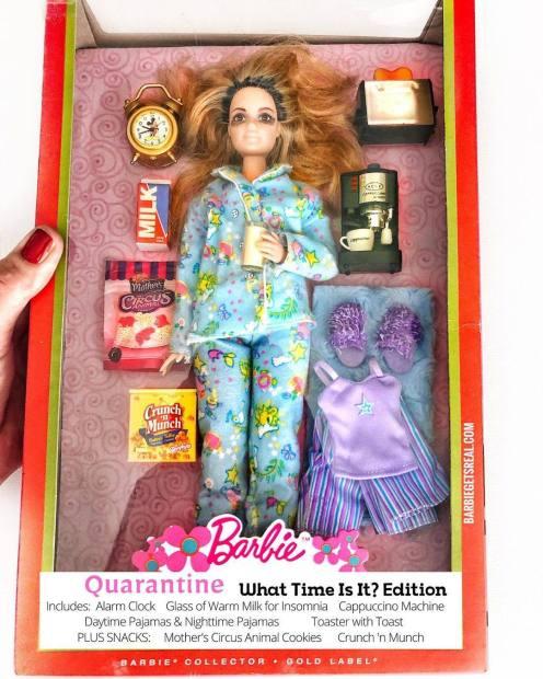 Barbie Cuarentena