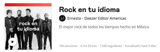 El tercer país más rockero del mundo