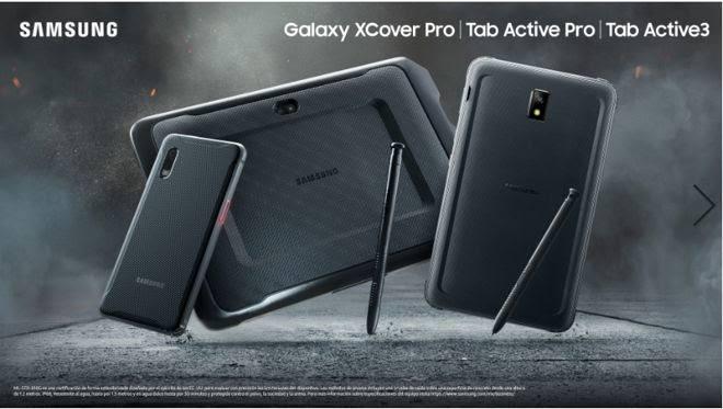 Samsung de uso rudo
