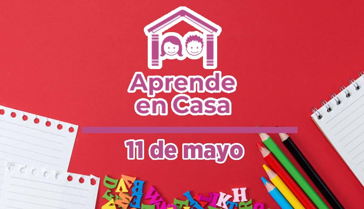 11 de mayo aprende en casa capital