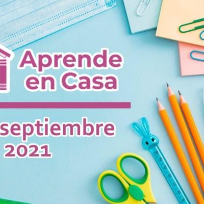 10 de septiembre aprende en casa