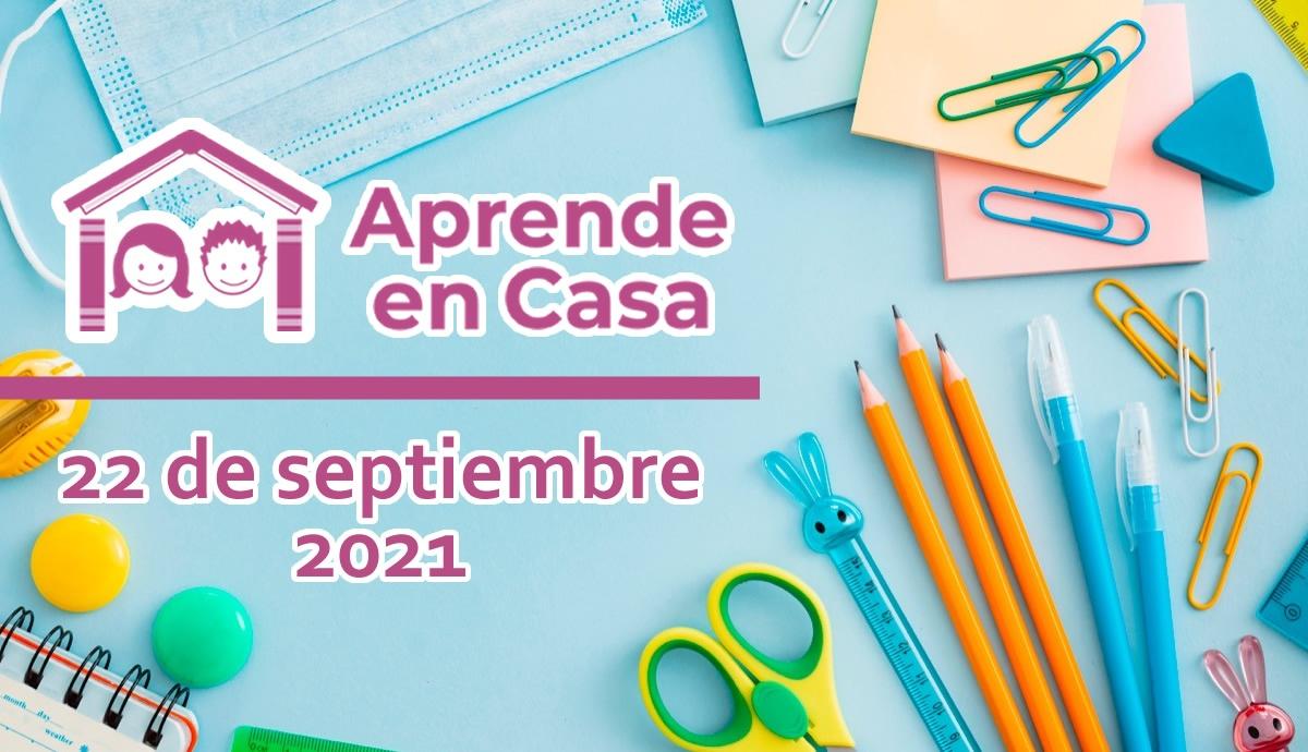 22 de septiembre aprende en casa