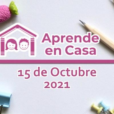 15 de octubre aprende en casa