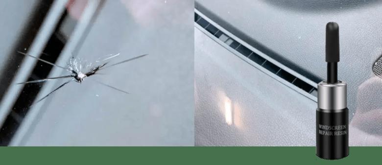 Glass Repair Liquid   Fix Small Chips, Scratches & Cracks