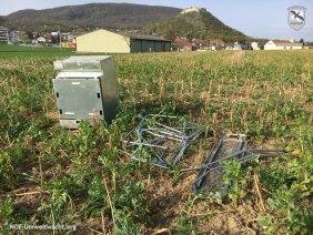Einsatz für die NÖ Umweltwacht   Foto: NOE-Umweltwacht.org