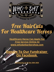Free Haircuts Flyer
