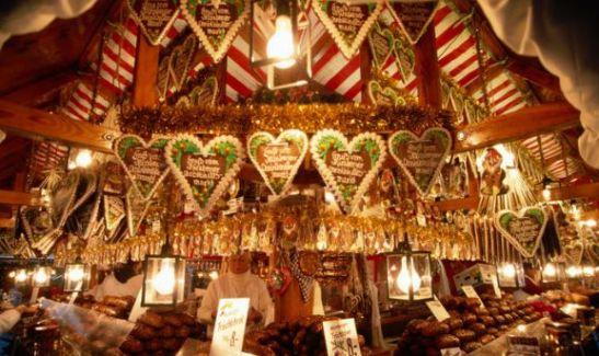 Un marché de Noël à Cologne