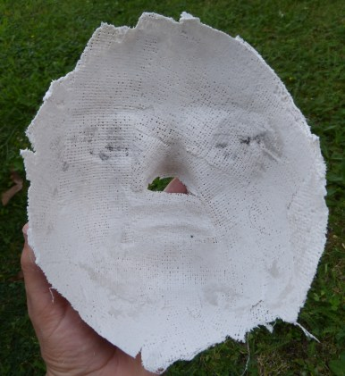 Inside of the mask