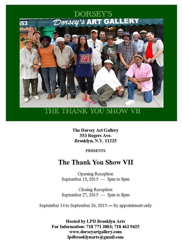 DORSEY'S THE THANK YOU SHOW VII