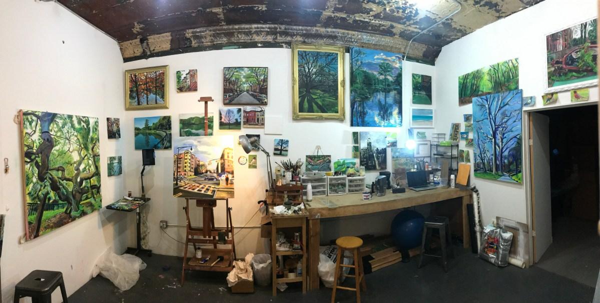Inside Noel Hefele Studio