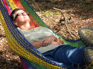 Mrs. Hanson Taking a Rest