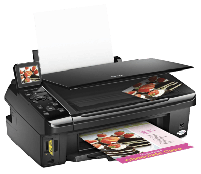 Epson Stylus NX410 Series Printer Scanner