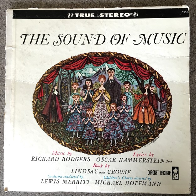 Sound of Music record cover, Coronet Records