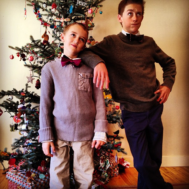 brothers in bowties