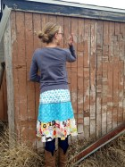 make a tiered skirt