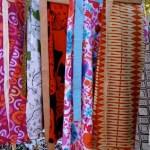 wrap skirts hung