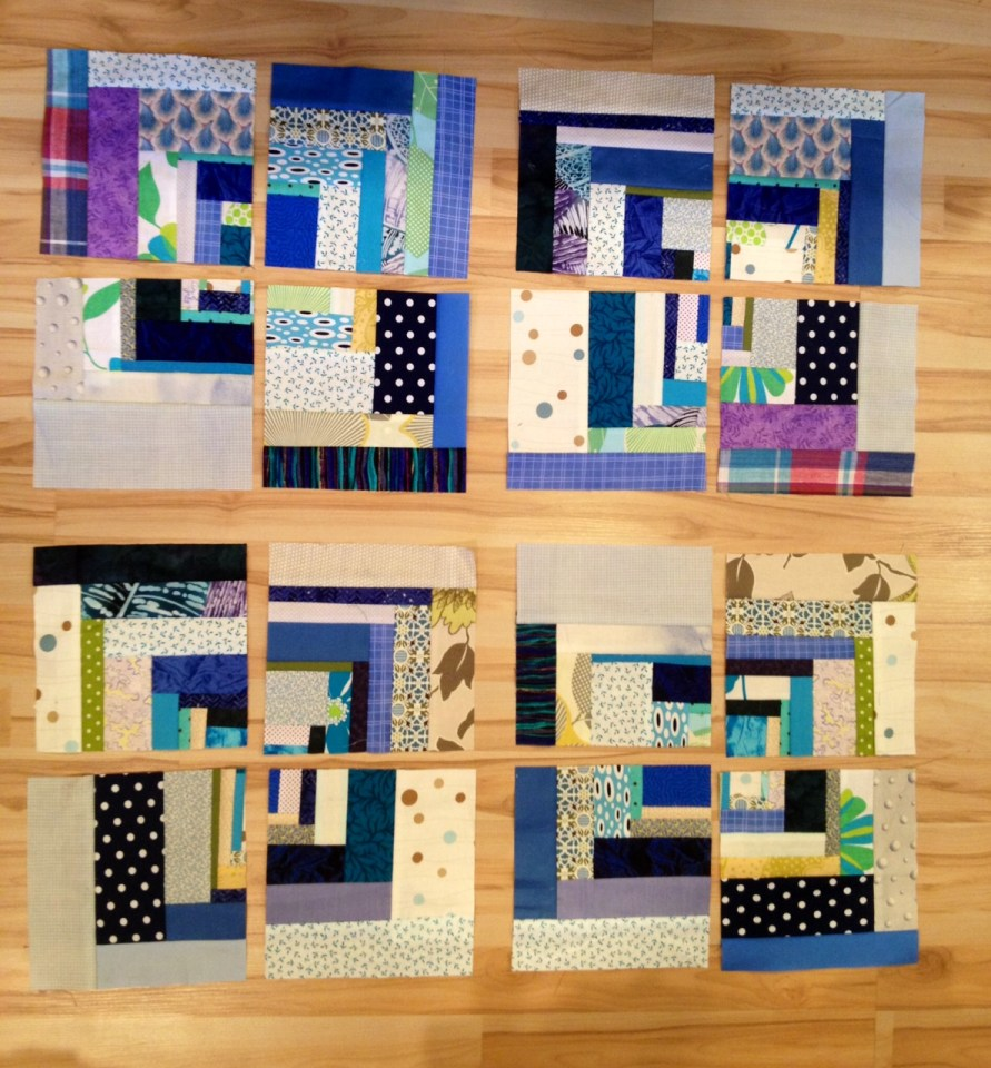 crazy abstract squares