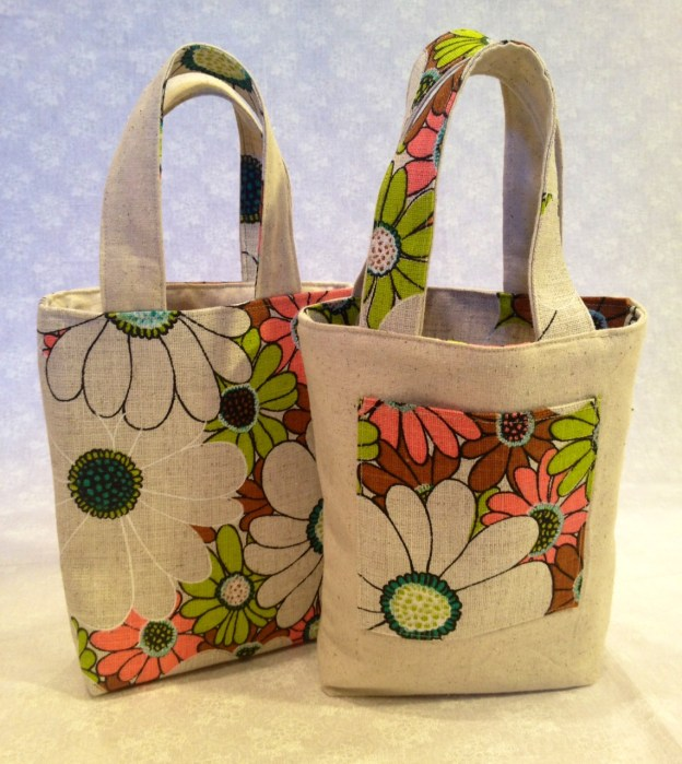 Reversible Purse Video: Reversible Tote Bags, How To Make One