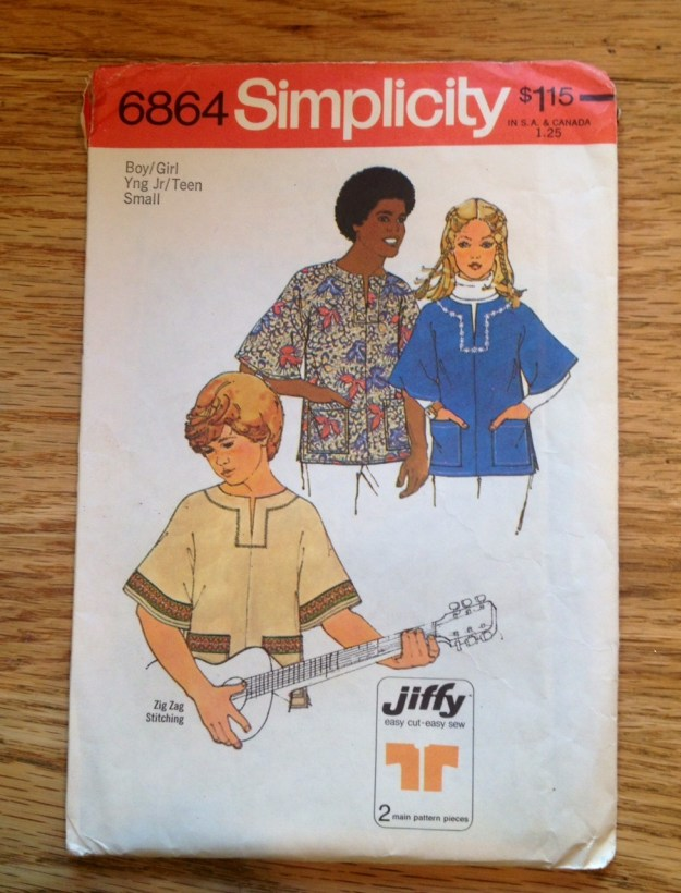 hippie shirt pattern