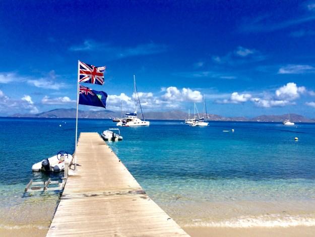 BVI flags Cooper Island