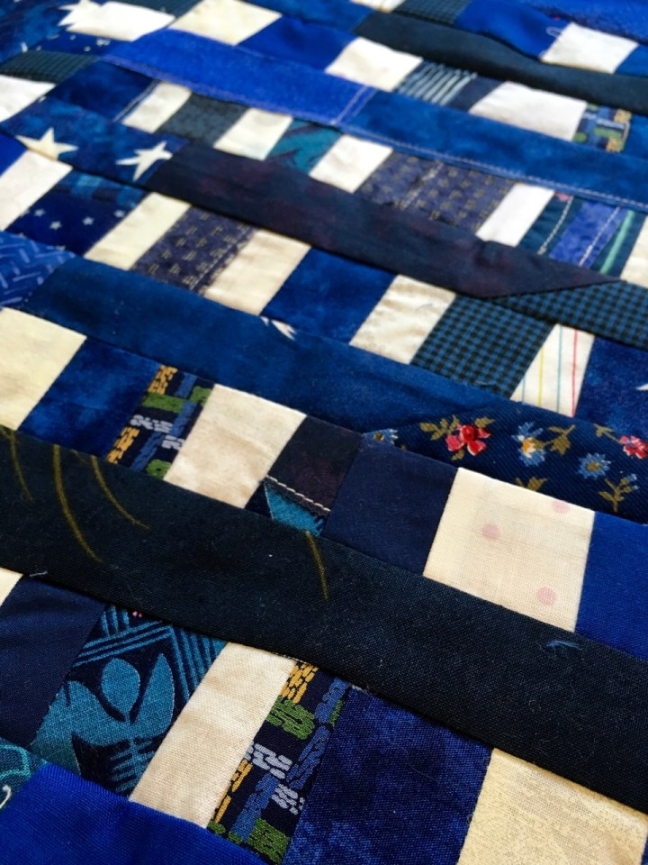 building the quilt stars
