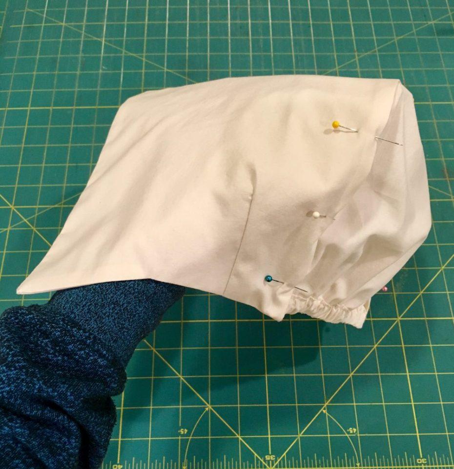 make a pilgrim bonnet