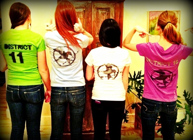 A Few More Fans Make Your Own Hunger Games Shirt Noelle