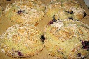 Caramel Bluberry Muffins