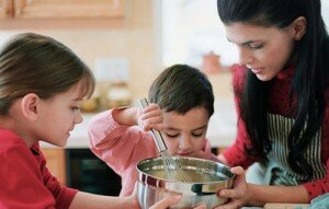Sharing Time With Your Kids In The Kitchen