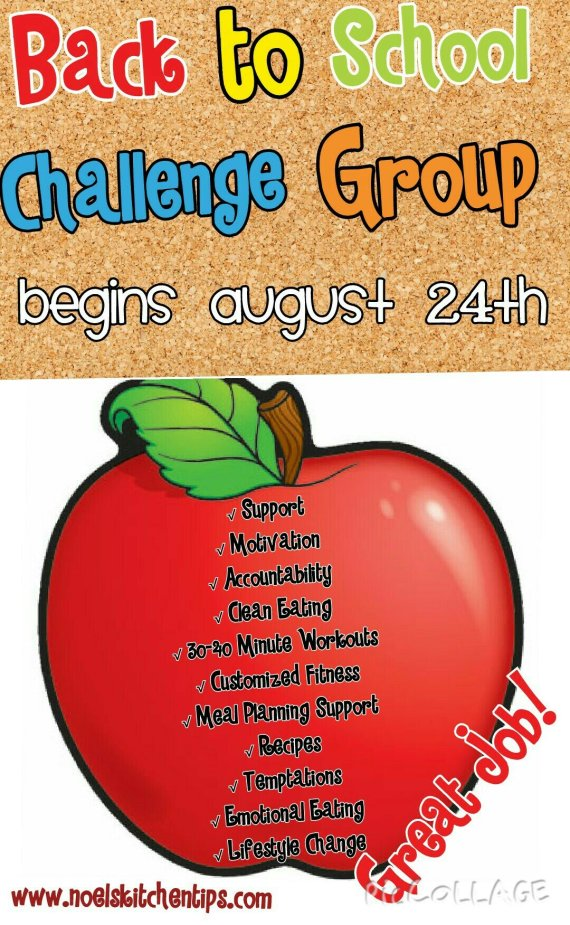 Back to school Challenge: Are you in?