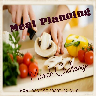 March Meal Planning Challenge