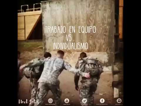<b>Video: Trabajo en equipo vs individualismo</b>
