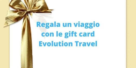guida alle gift card Evolution Travel