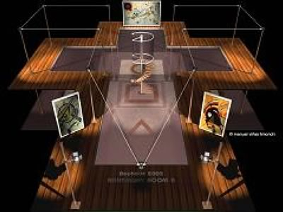 Multisensory interactive installation-longitudinal view