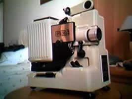 Alcuni modelli di proiettori cinematografici