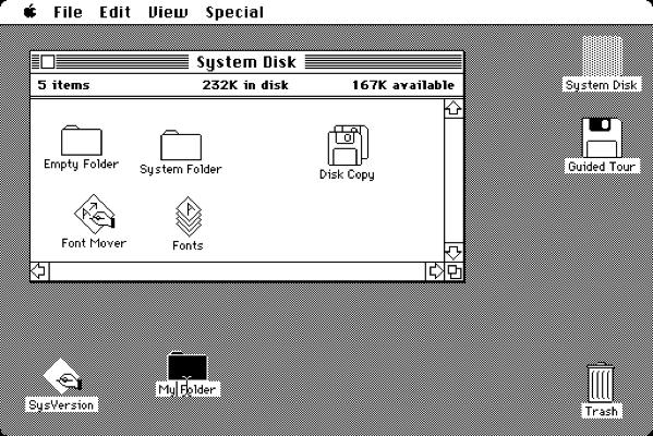 Mac OS 1